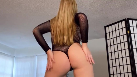 Bailey Rayne in Fishnet Fun