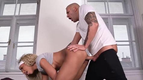 Romy Indy in Sexy Locker Room Shennanigans