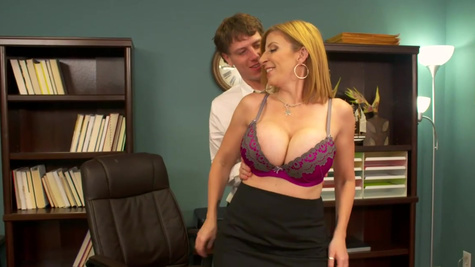 Sara Jay in Sara Jay fucking in the chair with her big tits