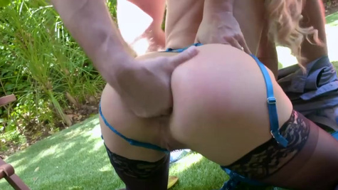 Cherie Deville in Cherie Deville Ass Fucked By Boyfriend At Home