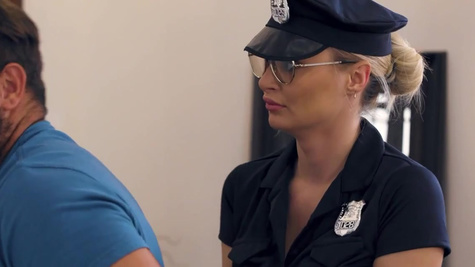 Bad cop Natalia Starr knows how to deal with criminals