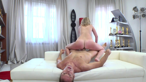 Alexa's pink pussy is perfect for Rocco's thick junk