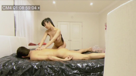 Full body massage always becomes sexual for Jade Kush