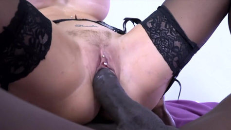 A massive black rod was Jasmine Jae's sexual fantasy