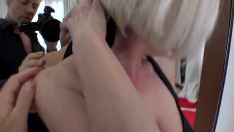 Two dudes are ready to destroy Eva Black's butthole