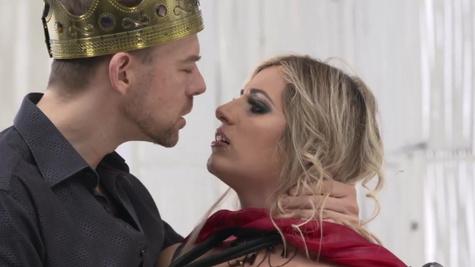 Horny sex witch Mia Linz having wild copulation with Rocco