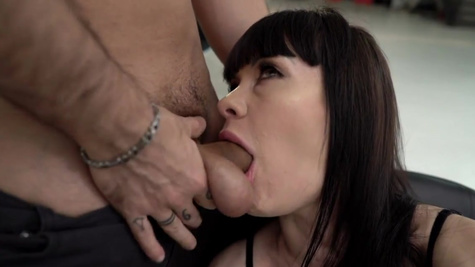 Footjobs and anal are Sasha Colibri's favourite things