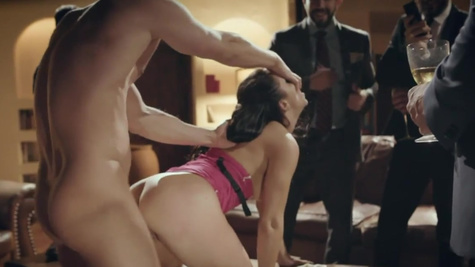 Rich men want to see escort Alina Lopez get pounded
