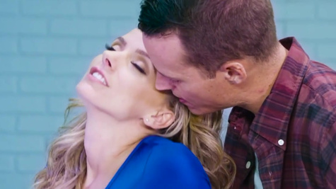 Married producer is tempted by horny blonde Jane Douxxx