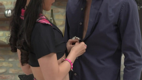 Asian coed Katana with glasses implicates the boy in sex