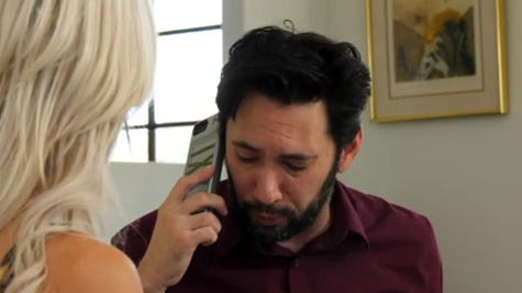 Sex deal of the bearded attorney and lecherous Nina Elle