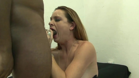 Mature Amanda Blow has an obsession with black junks