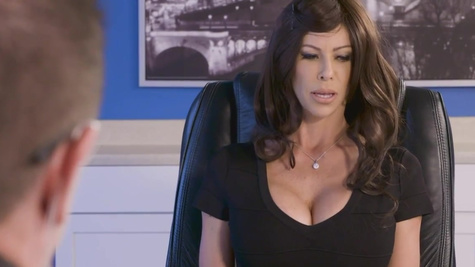 Busty MILF Alexis Fawx is blacked in Protection Program