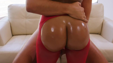 Elated Luna Star is analyzed after touching herself