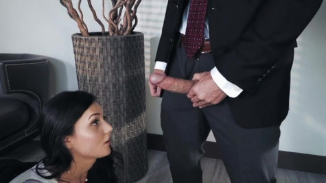 Ariana Marie has to be fucked by boss to get promotion