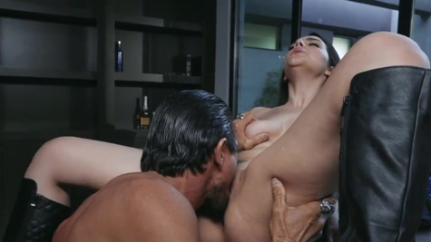 Italian chick Valentina Nappi is passionately drilled