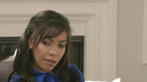 Hottie Shay Evans forces bodyguard to satisfy her needs