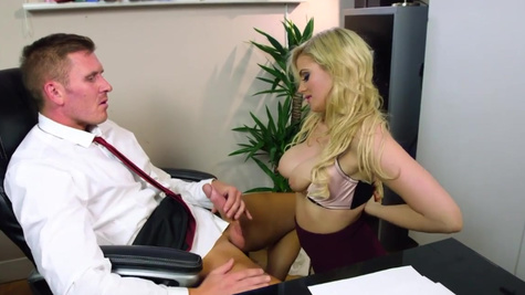Katy Jayne in Fix My Computer, Then Fuck My Pussy!
