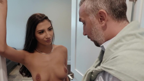 Gianna Dior in Gianna Dior and Missy Martinez have just enough time to clean up after their hot, sneaky fuck and return to the living room to meet with Keiran Lee