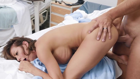 Alexis Fawx in When the wife's away, the nurse and her patient get to play! Keiran Lee is recovering in his hospital bed when his annoyingly overbearing wife pays him a visit, yet again.