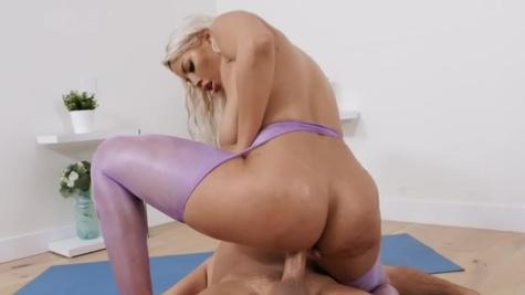Bridgette B in Wet Hot Yoga