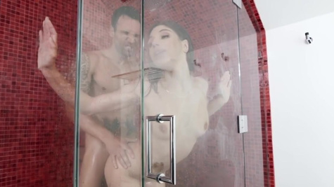 Abella Danger in Shower Head