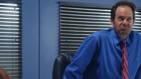Syren De Mer in Red Hot Boss From Hell