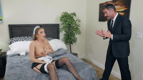 Britney Amber in What A Maid Wants