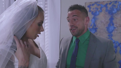 Future wife enjoys one last anal fuck before getting married