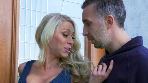Katie Morgan enjoys perfect sex with a much younger male