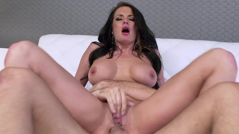 Naughty wife welcomes cock in the ass while home alone