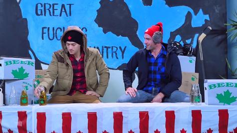 Impressive milf hard fucked in dirty threesome by two lumberjacks