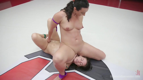 Lesbian bitches wrestling - hot strawberry