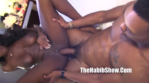 Black chick examination and subsequent mating