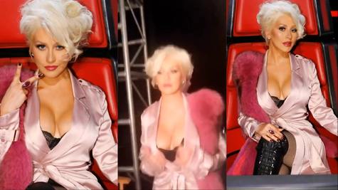 Сиськи Кристины Агилеры (Christina Aguilera)