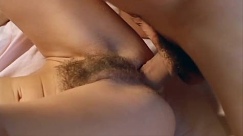 Hairy pussy fucked by overgrown dick