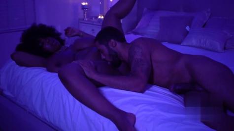 Black porn - busty fat chocolate ebony gets fucked