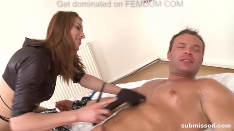 BDSM for tied up healthy male