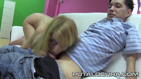Porn slut wants a tasty dick boy badly