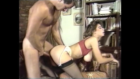 Retro sex of a man with a gorgeous beautiful chick