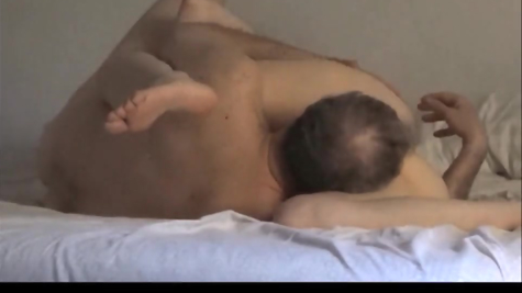 Hot 69 position and a dick in the pussy - a man fucks his beloved