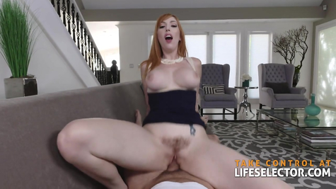 Redhead MILF Lauren Phillips and hard cock