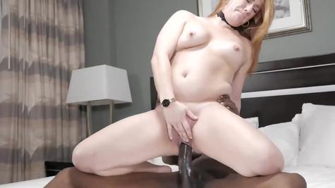 Межрасовый секс - негр с белой красоткой